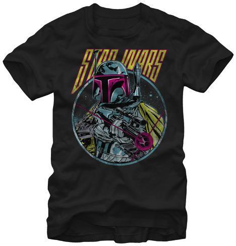 Star Wars- Bobba Fett Taking Aim T-Shirt