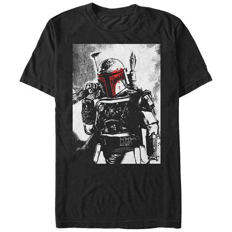 Star Wars- Bobba Selfie Camiseta