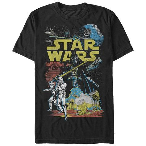 Star Wars- Classic Space & Ground Battles Camiseta