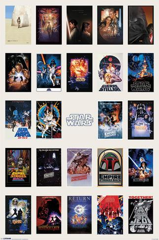 Star Wars - Collage Poster