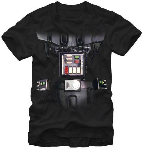 Star Wars- Darth Vader Costume Tee T-Shirt