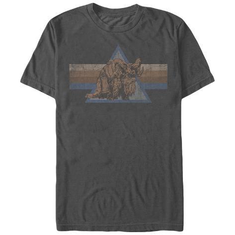 Star Wars- Distressed Bantha Button T-Shirt