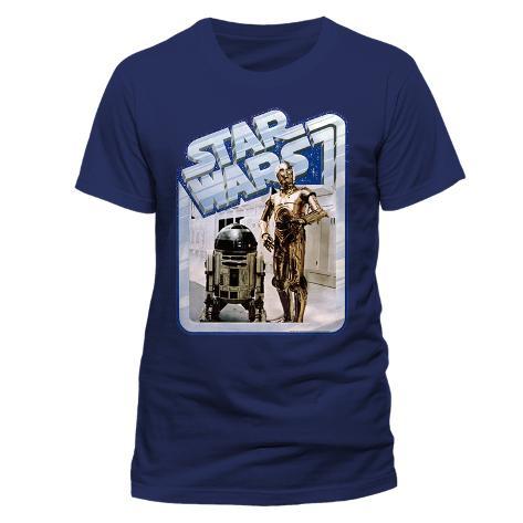 Star Wars - Droids Retro Badge T-Shirt