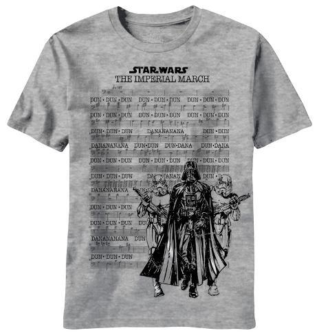 Star Wars - Emperial March Score T-Shirt