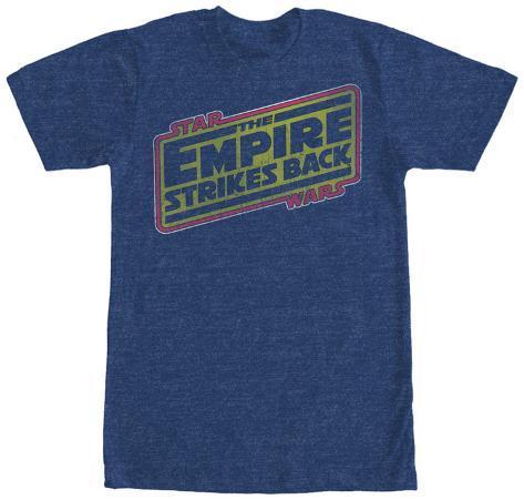 Star Wars- Empire Strikes Back Logo T-Shirt