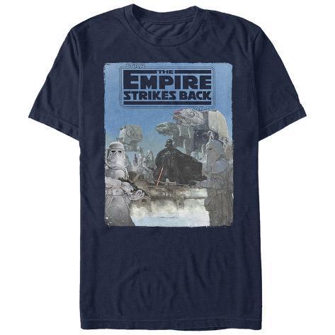 Star Wars: Empire Strikes Back- Vader Invades Hoth Camiseta
