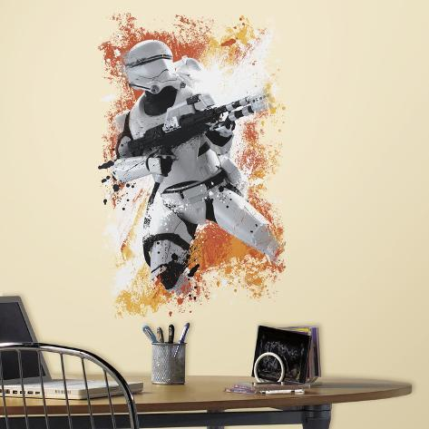 Star Wars: Ep VII Flametrooper Peel & Stick Wall Graphic Wall Decal