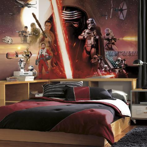 Star Wars Ep VII Prepasted Surestrip Wall Mural