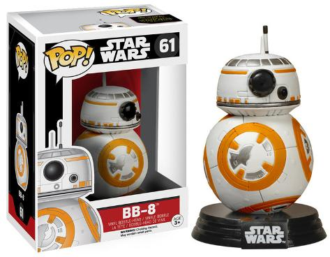 Star Wars: EP7 - BB-8 POP Figure Juguete