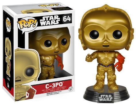 Star Wars: EP7 - C3PO POP Figure Toy