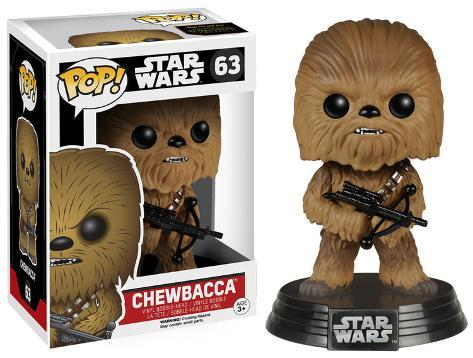 Star Wars: EP7 - Chewbacca POP Figure Leksak