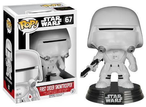 Star Wars: EP7 - Snowtrooper POP Figure Toy