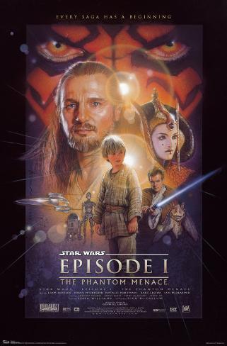 Star Wars - Episode I Mounted Print