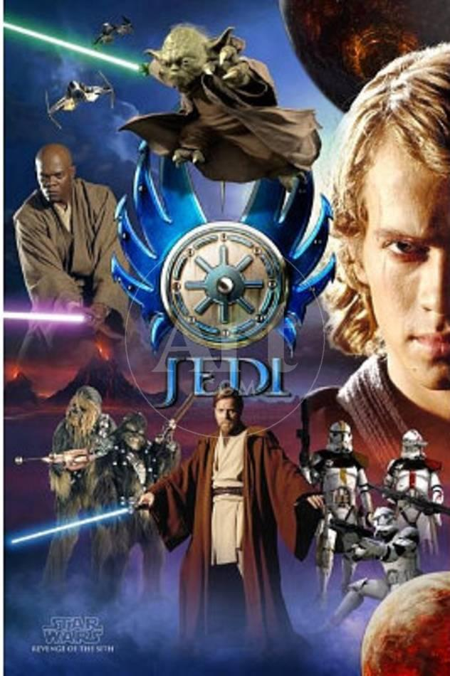 Star Wars Episode Iii Revenge Of The Sith Poster Jedi Print Allposters Com
