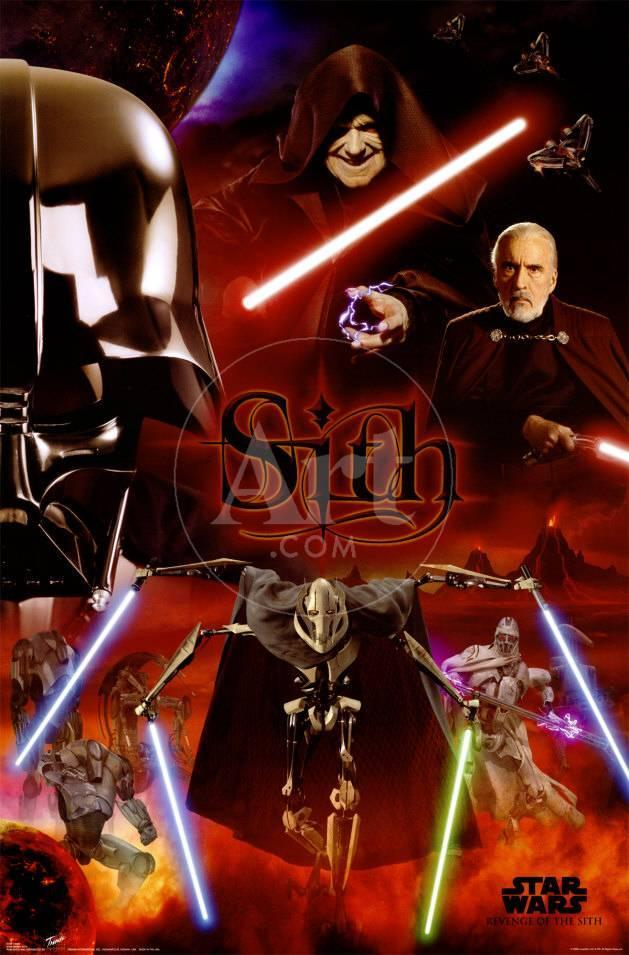 Star Wars Episode Iii Revenge Of The Sith Sith Prints Allposters Com