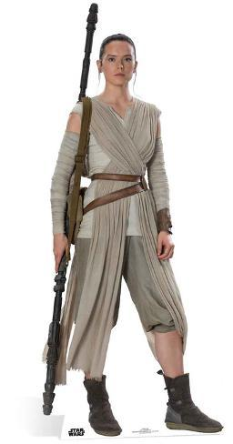 Star Wars Episode VII: The Force Awakens - Rey Cardboard Cutouts