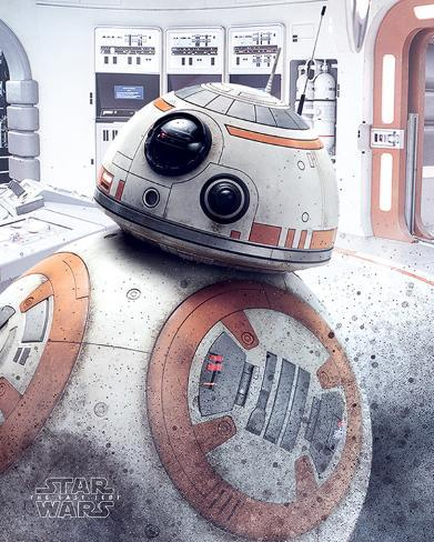 Star Wars: Episode VIII- The Last Jedi- Bb-8 Peek Mini Poster
