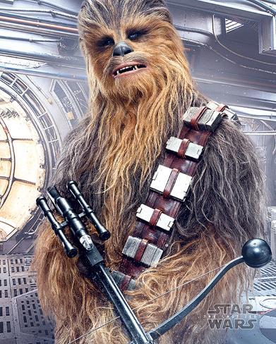 Star Wars: Episode VIII- The Last Jedi- Chewbacca Bowcaster Mini Poster