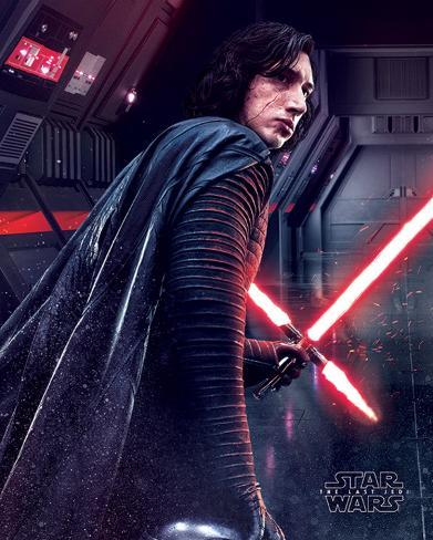 Star Wars: Episode VIII- The Last Jedi- Kylo Ren Rage Mini Poster