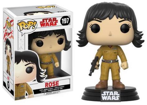 Star Wars: Episode VIII - The Last Jedi - Rose Leksak