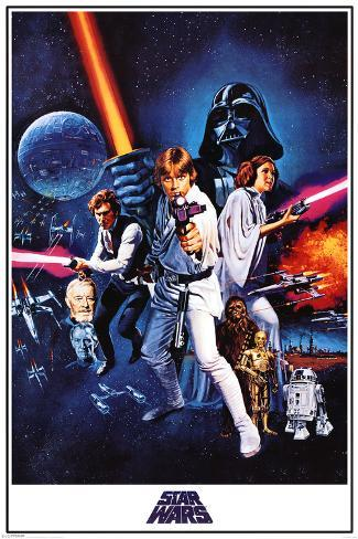 Star Wars: Episodio IV - Una nueva esperanza Póster