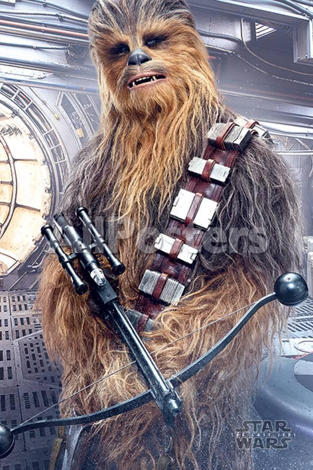 Star Wars Episodio VIII: Los últimos jedi - Chewbacca con ballesta ...