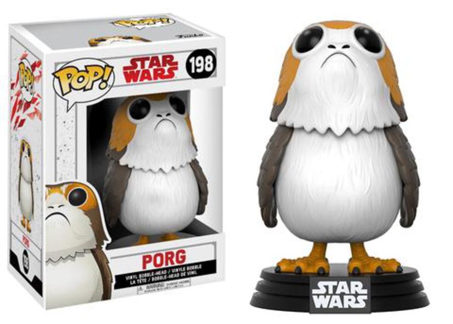 Star Wars: Episodio VIII - Los últimos Jedi - Porg Juguete en ...