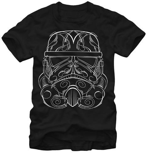 Star Wars- Etched Storm Trooper Camiseta
