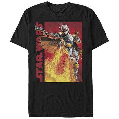 Star Wars- Fett Air Assault Camiseta