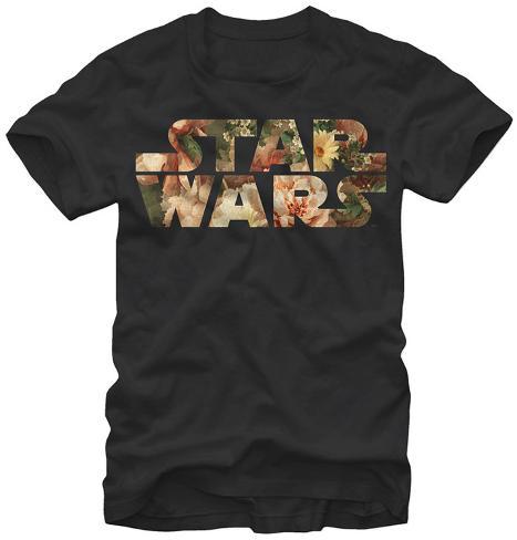 Star Wars- Floral Logo Camiseta