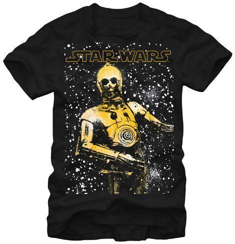 Star Wars- Galactic CP3O Camiseta