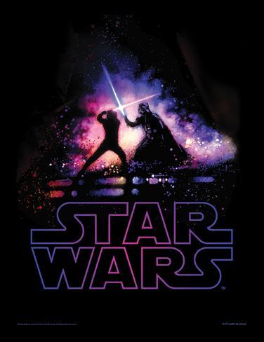 Star Wars - Gevecht Verzamelaarsprint
