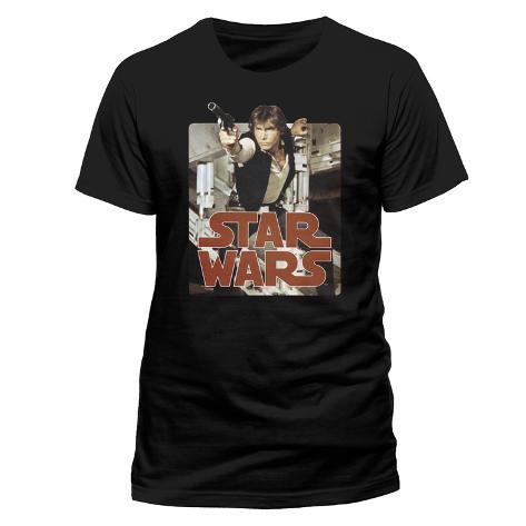 Star Wars - Han Retro Badge T-Shirt