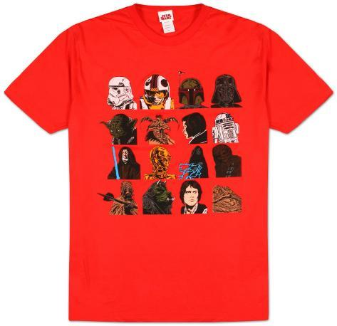 Star Wars  - Head Count T-Shirt