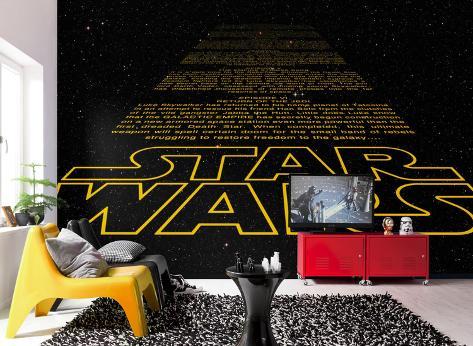 Star Wars - Intro Wallpaper Mural