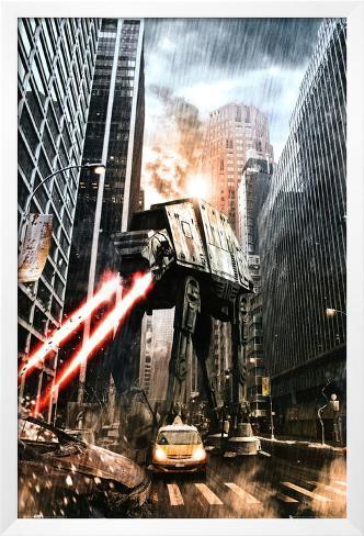 Star Wars-Manhat-atan Framed Poster
