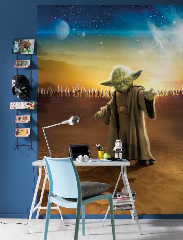 Star Wars - Master Yoda Wallpaper Mural