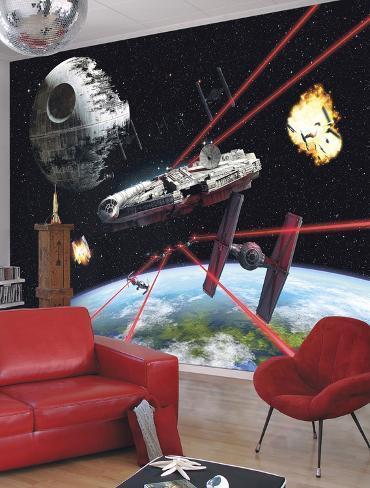 Star Wars - Millennium Falcon Wallpaper Mural