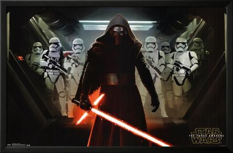 Star Wars - Oppression Lamina Framed Poster