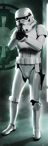 Star Wars- Original Trilogy Stormtrooper Door Poster