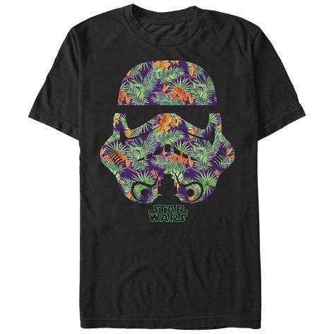 Star Wars- Palm Frond Trooper Helmet Camiseta