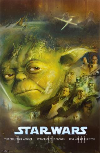 Star Wars - Prequels Poster