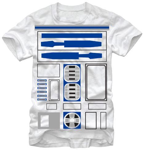 Star Wars- R2-D2 Costume Tee Camiseta