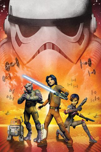 Star Wars Rebels - Empire Poster