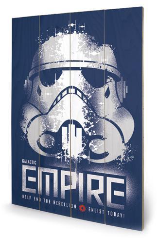 Star Wars Rebels - Enlist Wood Sign Targa di legno
