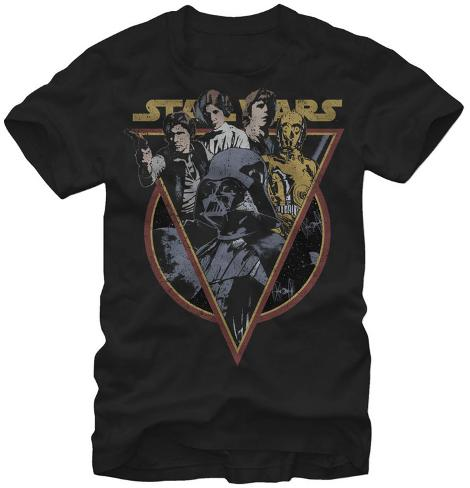 Star Wars-Retro Camiseta