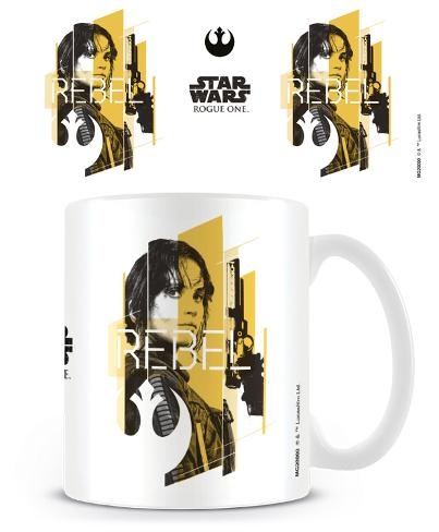 Star Wars Rogue One - Jyn Rebel Mug Mugg