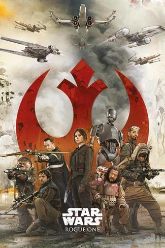Star Wars: Rogue One- Rebel Strike Force Poster