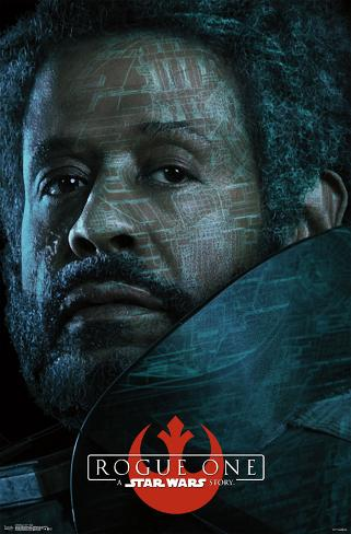 Star Wars: Rogue One- Saw Gerrera Circuit Profile ポスター