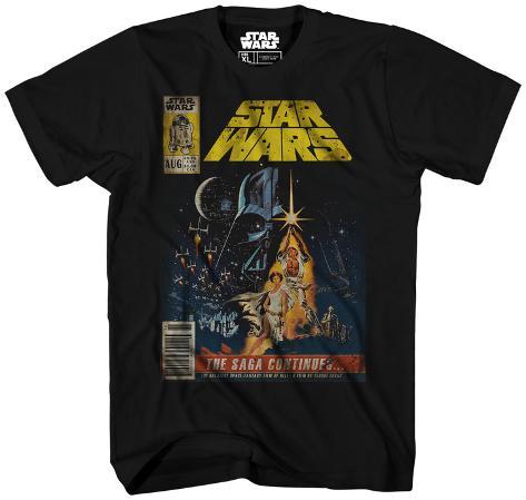 Star Wars- Saga Continues Camiseta